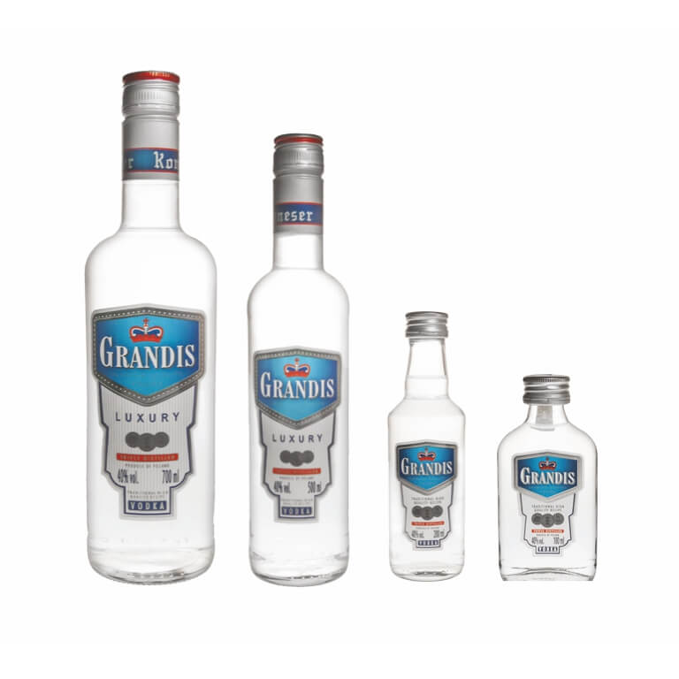Wódka Grandis 40% 700/500/200/100ml