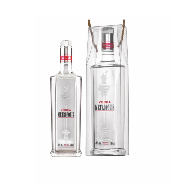 Metropolis Vodka 40% 700/500ml