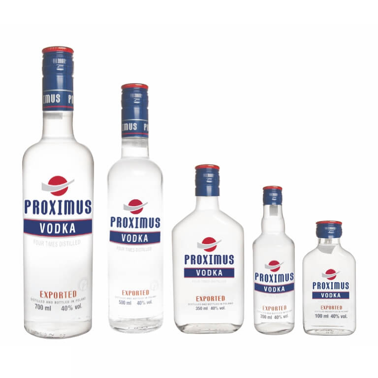 Wódka Proximus 40% 700/500/350/200/100ml